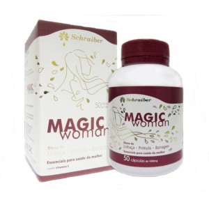 Magic Woman 50 Capsulas 1000mg