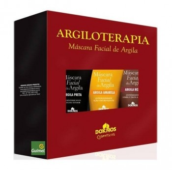 Argiloterapia Kit Argila Mascara Facial 120g