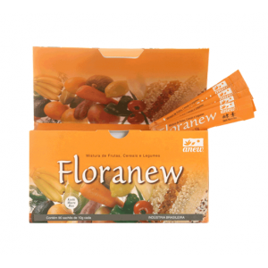 Floranew Lactobacilios Prebiotico 20 e 90 Sachês 10g  Anew