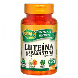 Luteína e Zeaxantina 60 Cps 400mg Unilife
